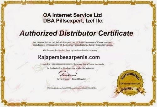 sertifikat rajapembesarpenis